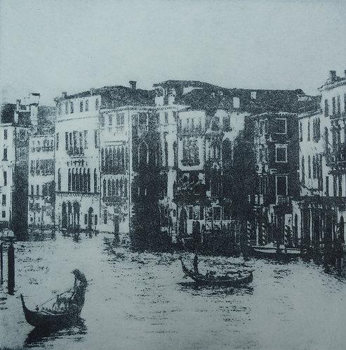 Venice Grand Canal II - Aquatint Etching