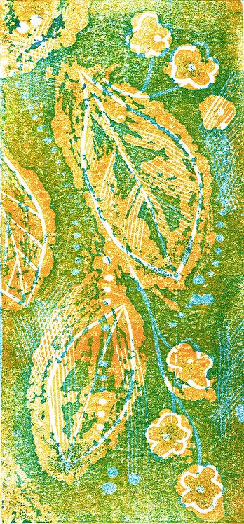 Spring - Linocut