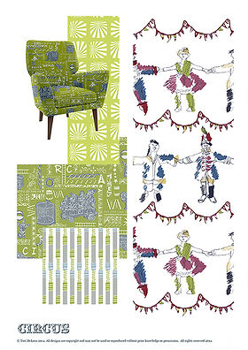 Tori McLean examples of Freelance Textile & Surface Design for Interiors