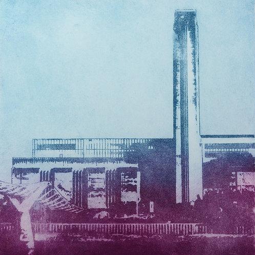 Tate Modern 1 - Aquatint Etching