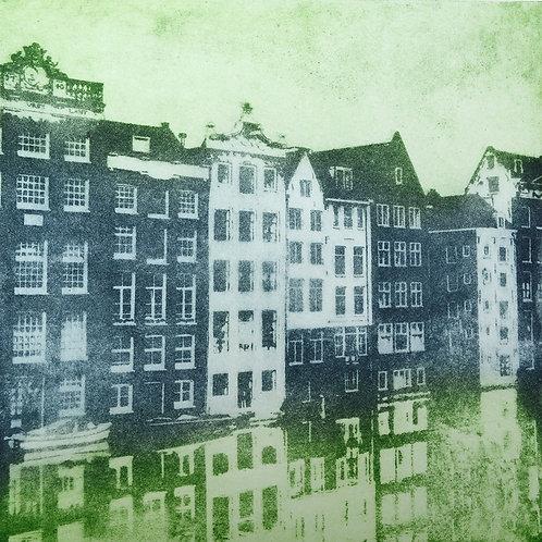 Amsterdam Canal I - Aquatint Etching