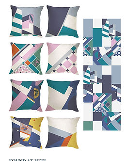 Tori McLean examples of Freelance Textile & Surface Design for Products and Bespoke Projects