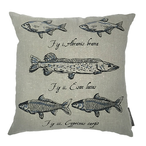 Pike Country Life Linen Cushion - Grey