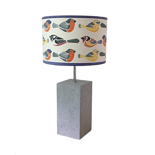 Garden Bird Table Lampshade