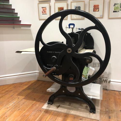 Tori McLean's Rochat Etching Press