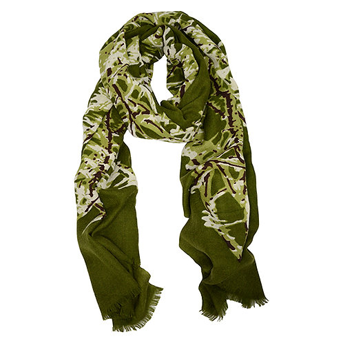 Frost Scarf Cashmere Silk & Wool