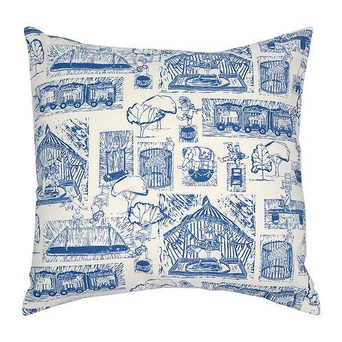 Cirkor Circus Cushion - Blue