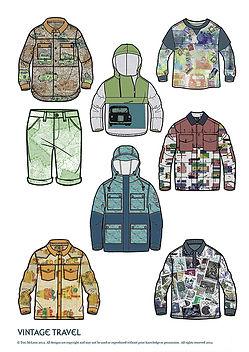 Tori McLean examples of Freelance Textile Design for Fashio