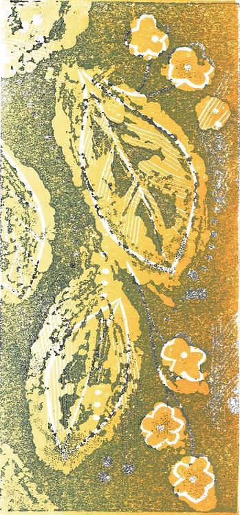Autumn - Linocut