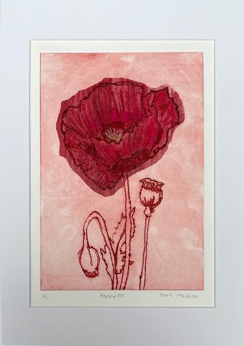 Tori McLean Flower Portraits Derby Print Open