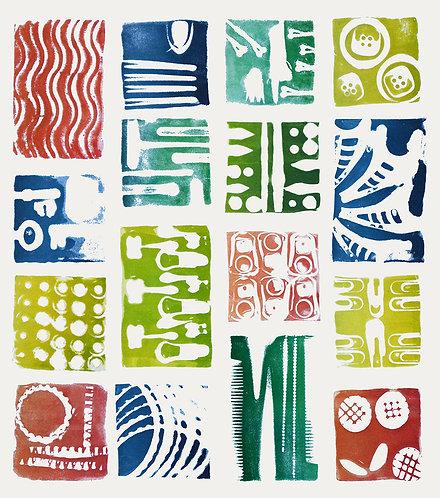 Impressions of London - Clay Block Print