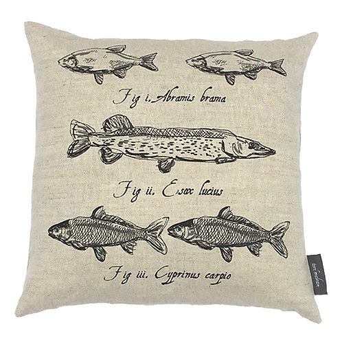 Pike Country Life Linen Cushion - Beige