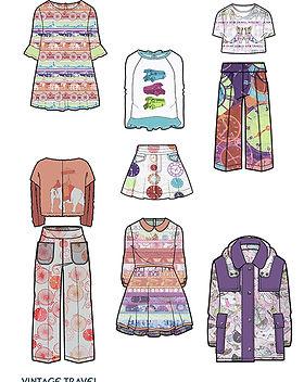 Tori McLean examples of Freelance Textile Design for Fashion