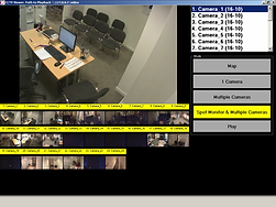 Customised CCTV system with multi camera view
