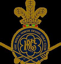 Royal North Devon golf club logo