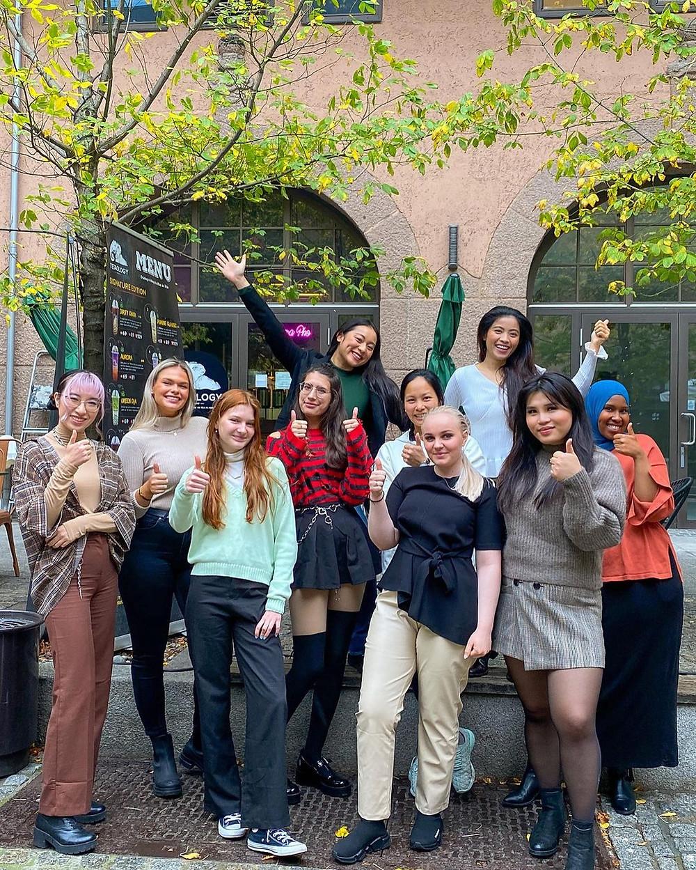 Our Boba bae bubble tea Oslo Drammen Sandvika Trondheim Norway