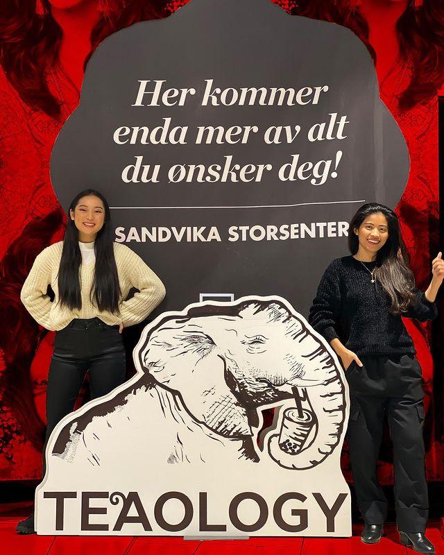 Sandvika Storsenter bubble tea Oslo Drammen Sandvika Trondheim Norway