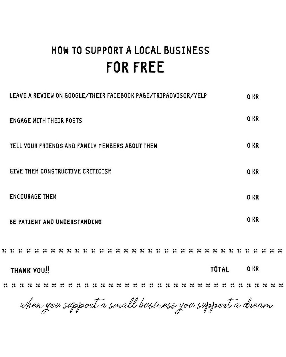 How to support a local business for free bubble tea Oslo Drammen Sandvika Trondheim Norway