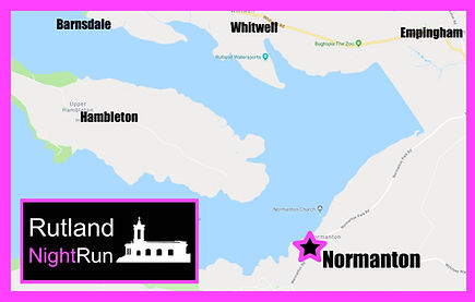 Rutland NightRun location