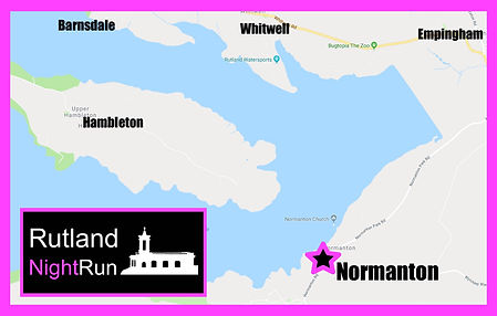 Rutland NightRun location