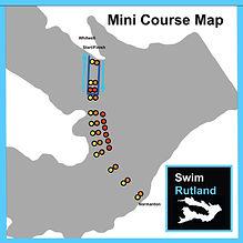 SwimRutland Mini Course Map