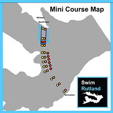 SwimRutland Mini Course Map