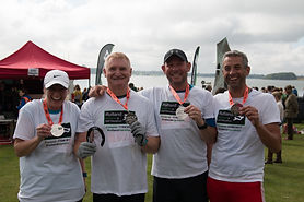 Rutland Team marathon finishers