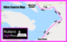 Rutland NightRun Course Map