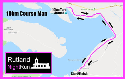 Rutland NightRun Course Map