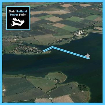 SwimRutland TowerSwim course map