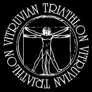 The Vitruvian Triathlon logo