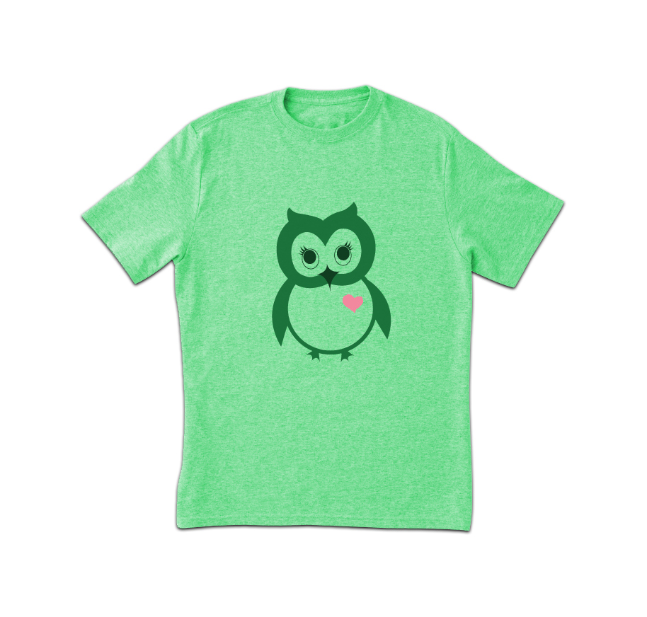 Owl New Design Printed T-shirt