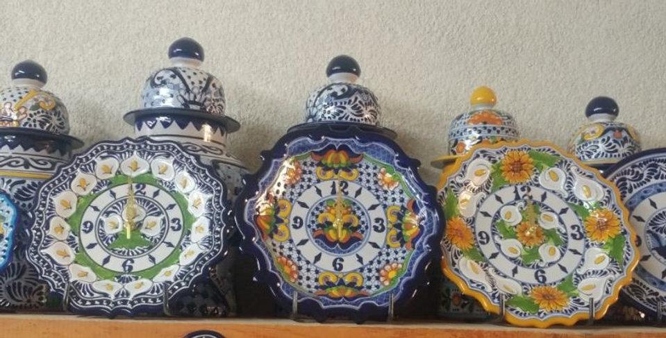 Relojes y Tibores de Talavera