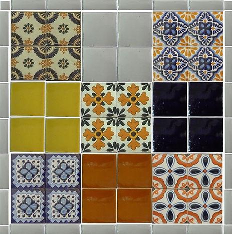 Azulejo de Colores en diferentes diseños