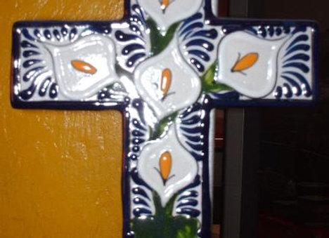 Cruz Latina para Recuerdo 12 cm.
