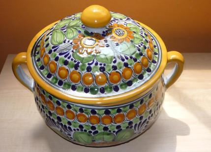 Girasol Tradicional Borde Amarillo