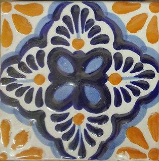 Azulejo Decorado de Varios Colores