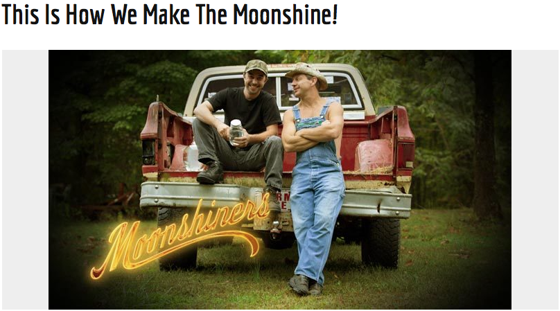 """""""Moonshiners""""-Discovery"""