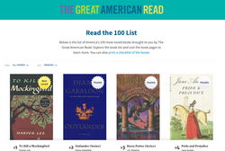"""""""The Great American Read""""  PBS"""