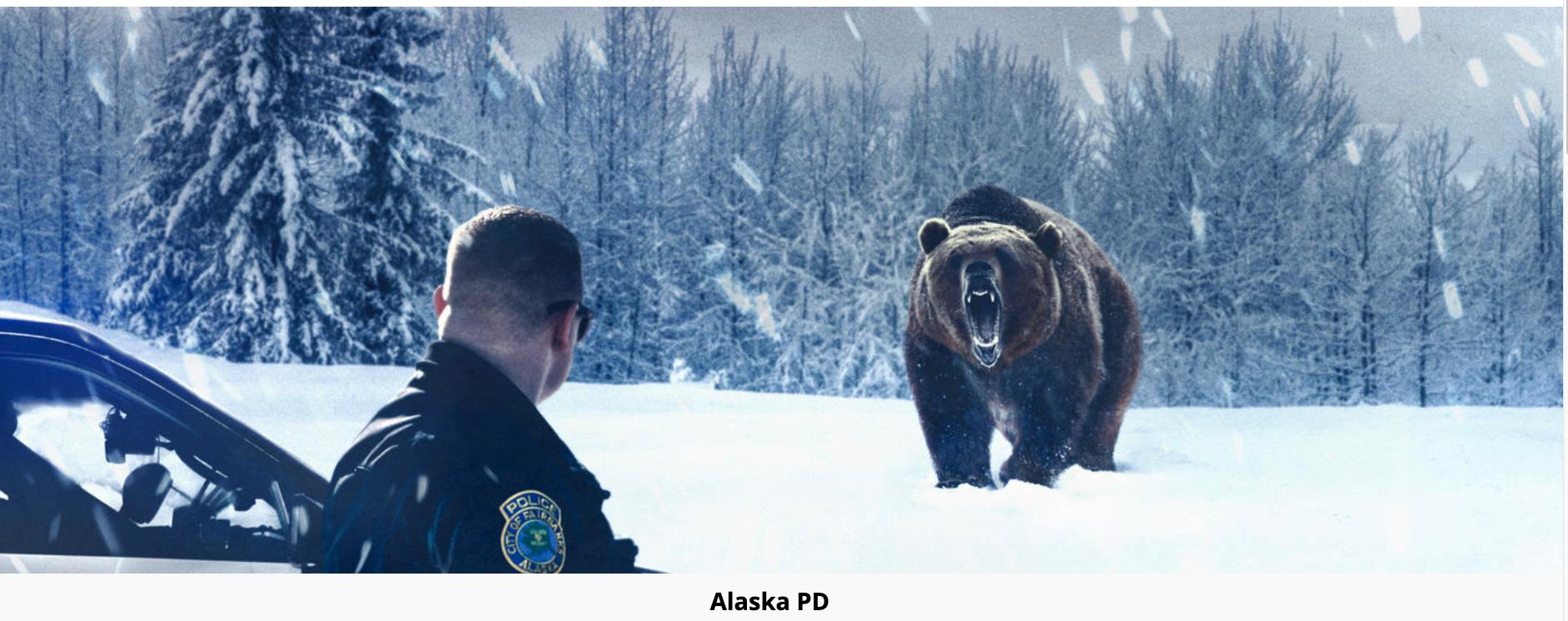"""""""Alaska P.D.""""  A&E"""