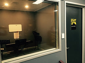 One of 3 smaller vocal studios, perfect for private lessons or recording sessions.