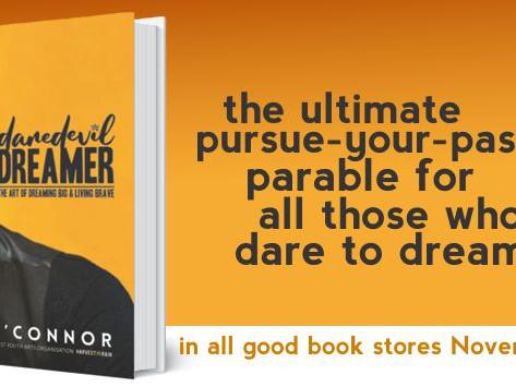 Tim O'Connor releases new book, Daredevil Dreamer