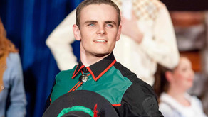 Patrick Connolly accepted into the Conservatorium
