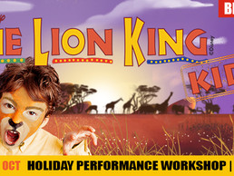 Perform in Disney's The Lion King Kids!