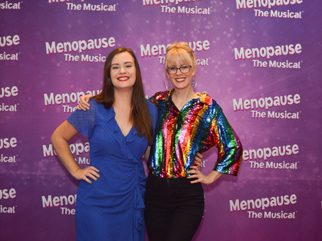 Maureen Bowra and Samantha Paterson take on Menopause the Musical!