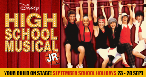 HIGH SCHOOL MUSICAL Jr for teens this September!
