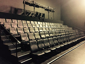 The 120 seat theatre space at Hayward Street.