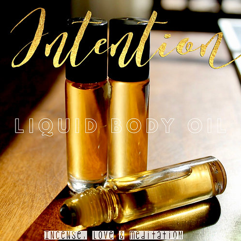 INTENTION- Perfume Body Oil