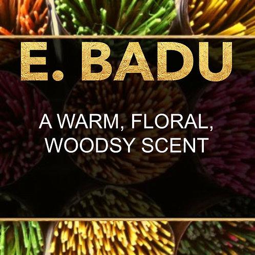 E. BADU