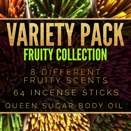 VARIETY PACK: Fruity Collection